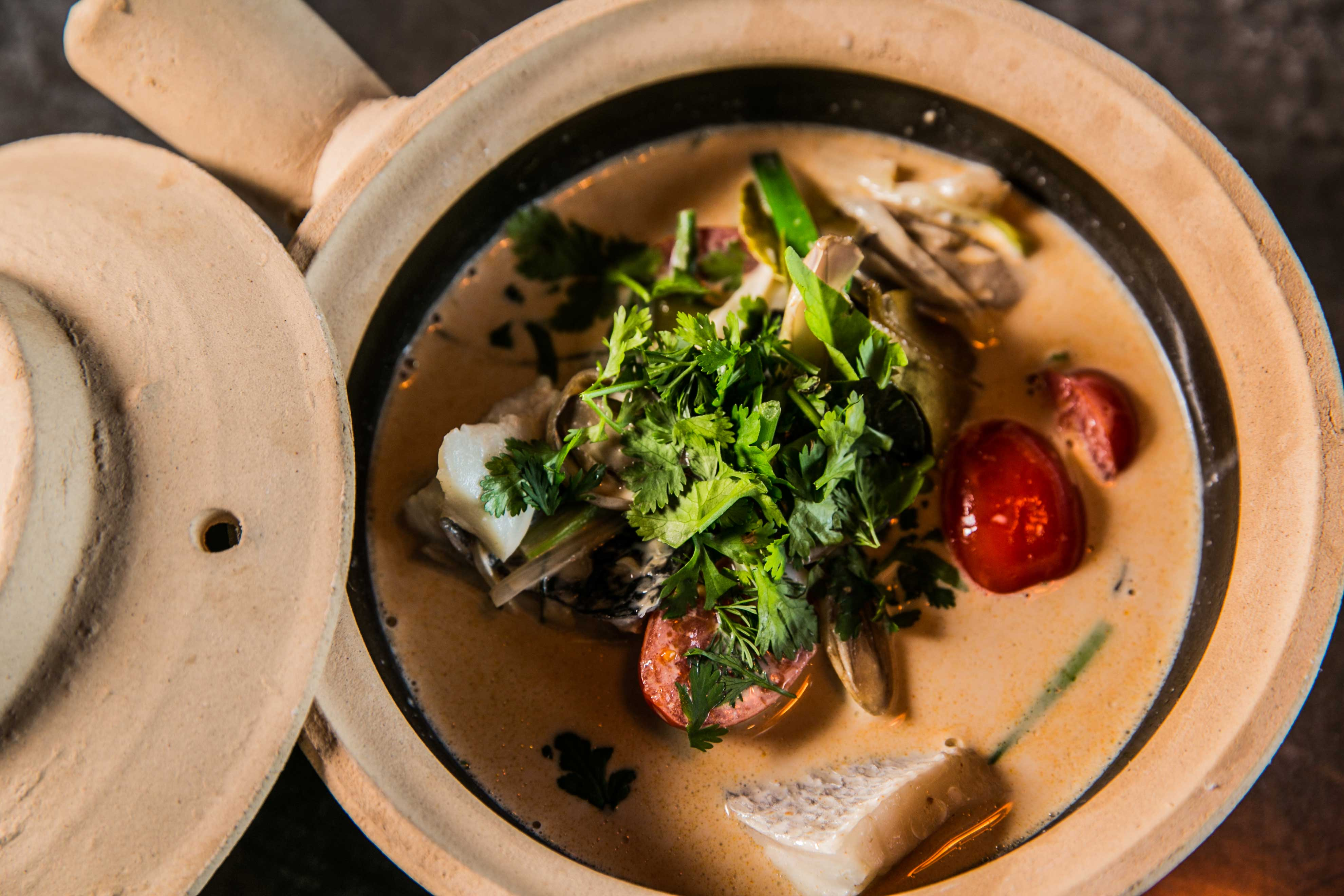 Restaurant cuisine thaï